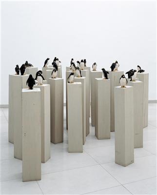 Des hommes et des pingouins