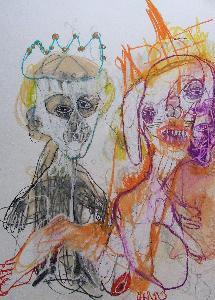 Caroline Demangel et carte blanche à Frédéric de Florenne