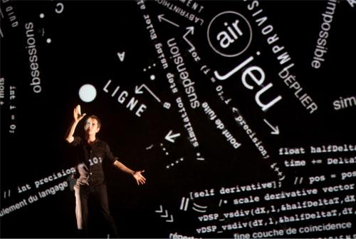 Adrien Mondot : « C'est fascinant comment le seul mouvement d'un point peut évoquer tout un tas de choses »