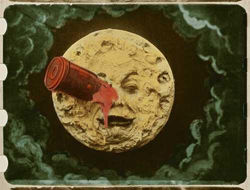 La lune et le magicien