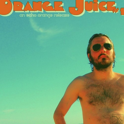 Vintage pur jus d'Orange