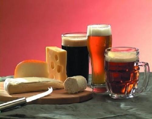Bière et fromage!
