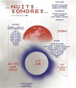 Nuits sonores 2012 - Sélection Circuit Électronique