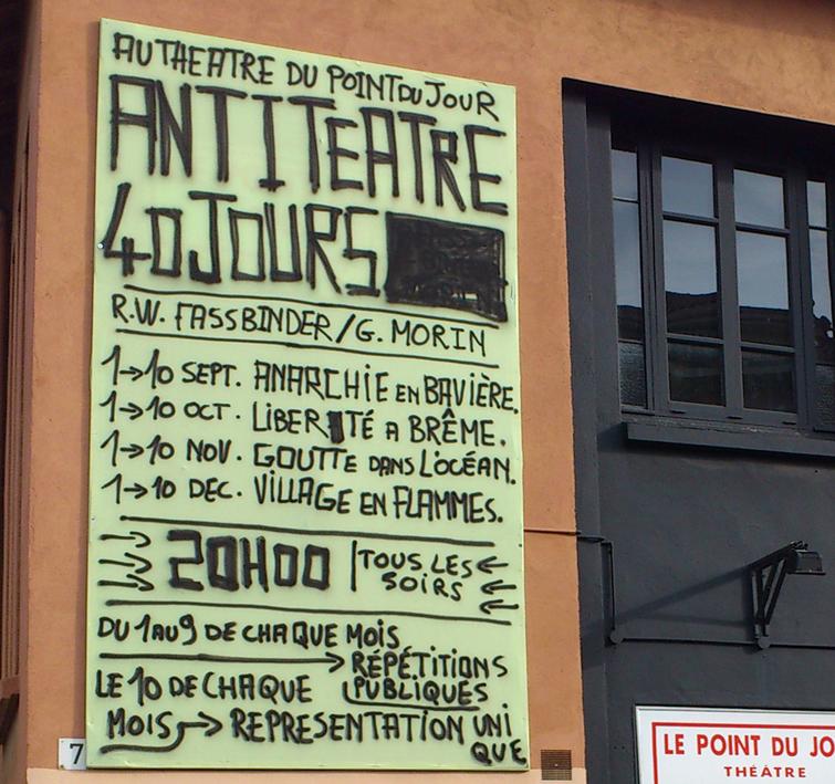 Gwenaël Morin nouveau directeur du théâtre du Point du jour