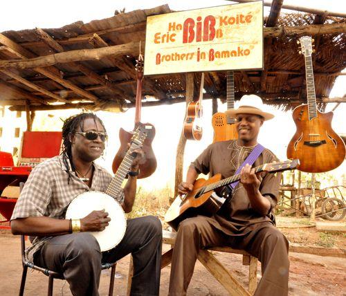 Le bluesman et le griot