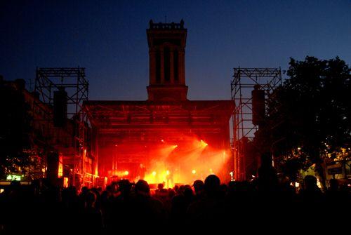 Un plateau fourni pour la Fête de la Musique 2013