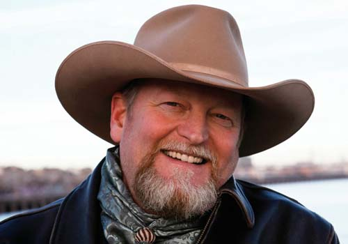 Craig Johnson, lonesome cowboy