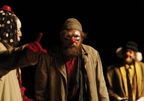Shakespeare avec nez rouge