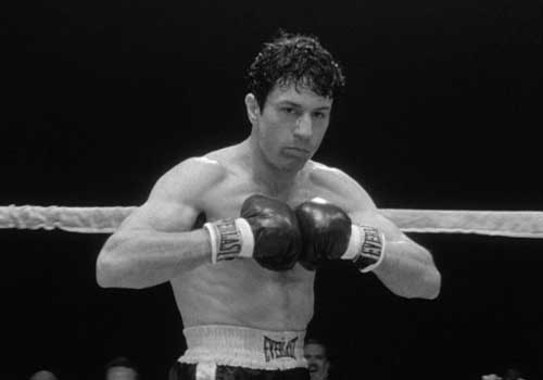 """Raging bull"", la passion du christ-boxeur"