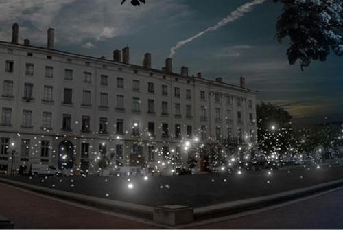 Carte interactive de la Fête des Lumières