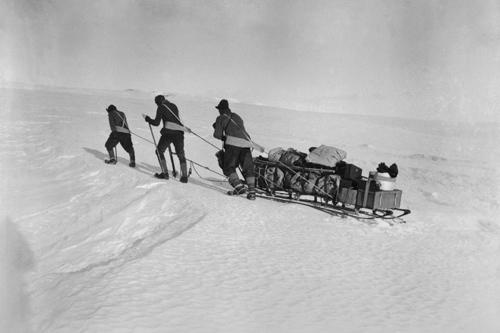 Les chariots de glace