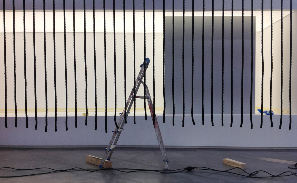 Montage de la Biennale : c'est le rush !