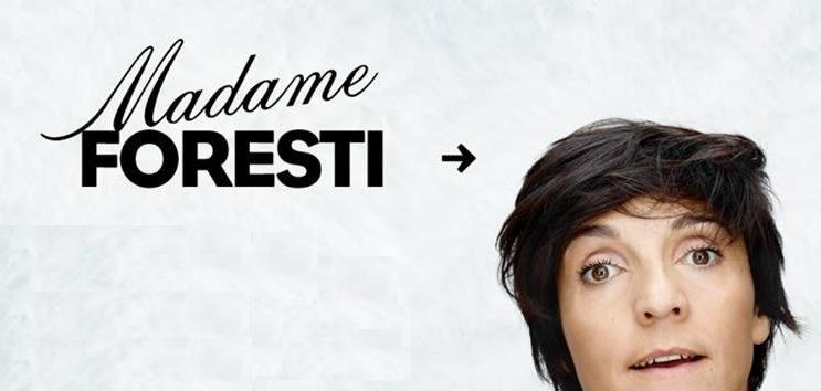 Florence Foresti en décembre à Grenoble