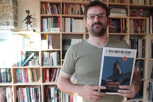 Olivier Jouvray : «Le livre est un objet sacré»
