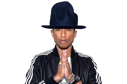 Le coup du chapeau de Pharrell Williams