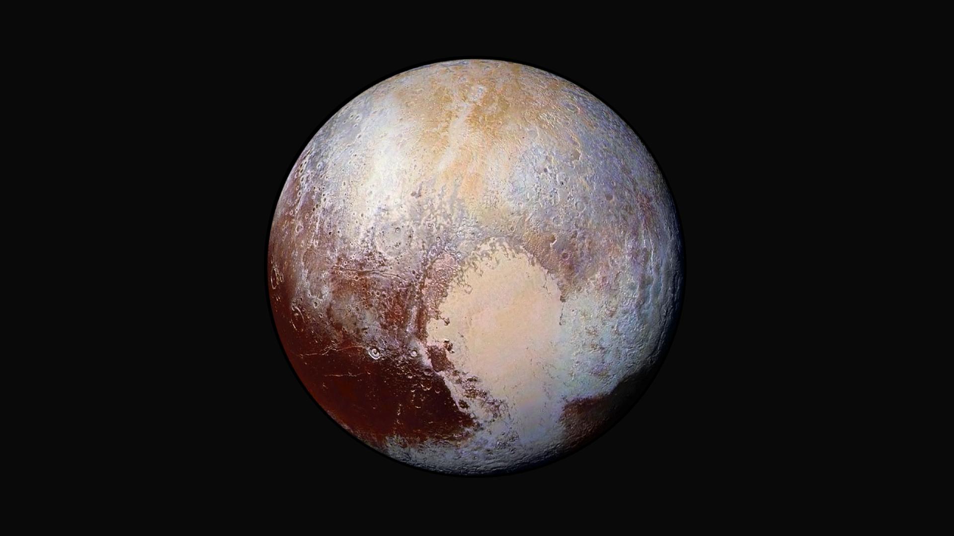 Pluton enfin dévoilée