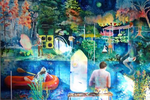 Les hétérotopies picturales de Marie-Anita Gaube