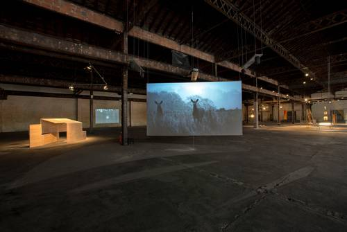 Avec la Biennale, flânez à la Halle Girard