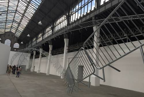 Grève au Magasin, centre national d'art contemporain de Grenoble