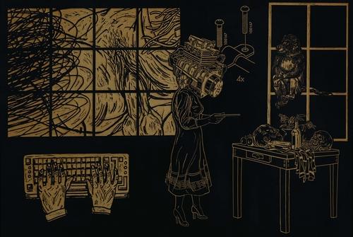 À la galerie Pallade, Frédéric Arditi met en images l'aliénation