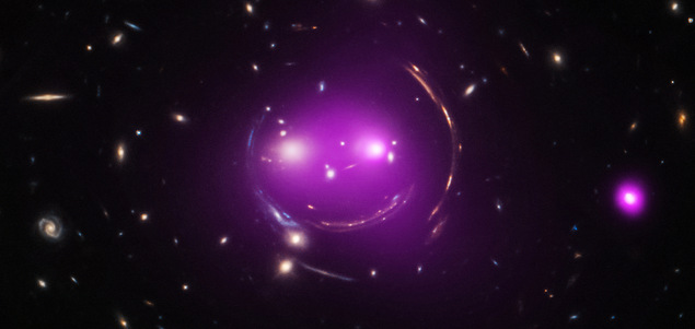 Un smiley gravitationnel