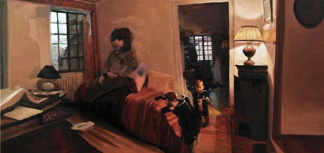 Marc Dailly, de la hache au pinceau
