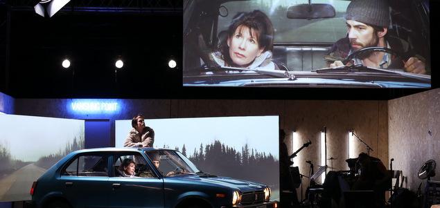 Road trip, théâtre et rock n'roll