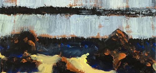 Les peintures abruptes de Guy de Malherbe