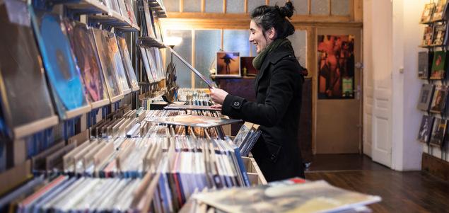 Lyon : Tiki Vinyl Store, l'épure et l'écoute