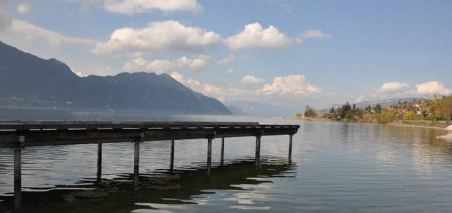 Lamartine au Lac