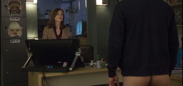 "Critique du film Elle de Paul Verhoeven (Fr./All., int.-12 ans, 2h10) avec Isabelle Huppert, Laurent Lafitte, Virginie Efira� ""Elle"" : petit Verhoeven pour petite Huppert CINEMA"