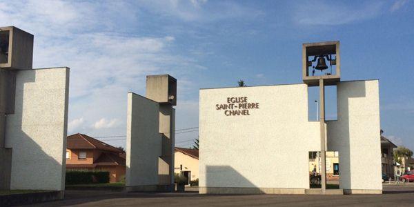 L'austérité de l'église Saint-Pierre-Chanel