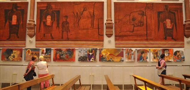 Musée d'art sacré contemporain : un peintre et des merveilles