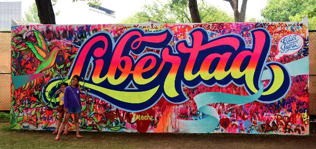 Les street artistes à l'œuvre au MAC