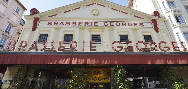 Brasserie Georges : une visite aux petits oignons