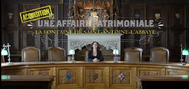 Une affaire patrimoniale #3 : la fontaine de Saint-Antoine-l'Abbaye