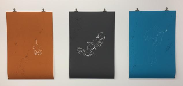 """Exposition True places au Vog (Fontaine) """"True places"""" : trac�s m�moriels par Jeremy Wood EXPOSITIONS"""
