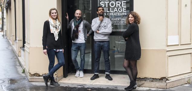Le Village des Créateurs ouvre un pop-up store