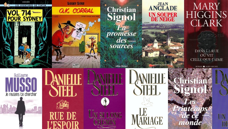 Le top 30 des livres les plus empruntés dans les bibliothèques stéphanoises