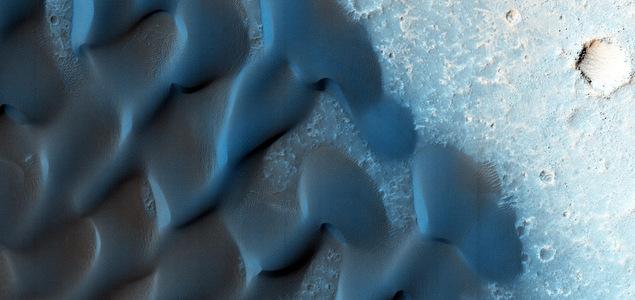 Dunes martiennes, au gré des vents