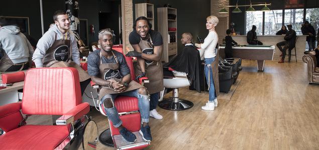 235th Barber Street, plus qu'un barbier, un lieu de vie