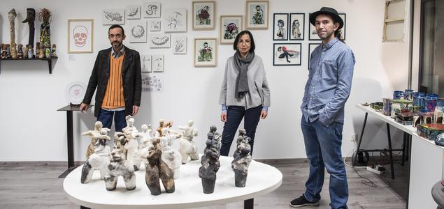 La galerie qui entend démocratiser l'art contemporain
