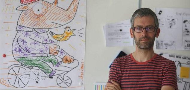 Gaëtan Dorémus à la Fête du Livre Jeunesse