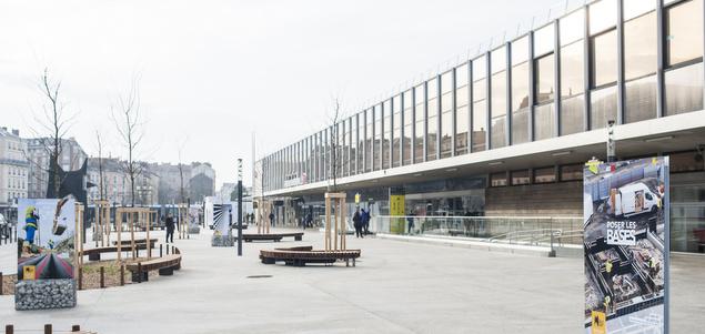 Des gares en transformation : Grenoble