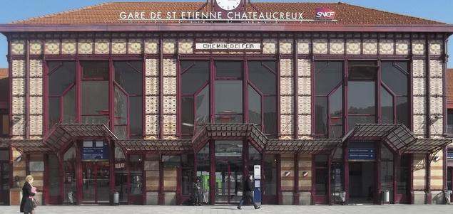 Des gares en transformation : Saint-Étienne – Chateaucreux