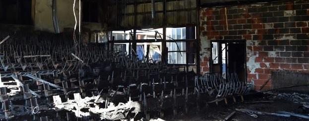 Le Nouveau Théâtre de Beaulieu part en fumée