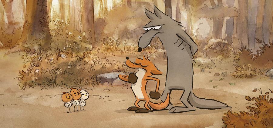 Le Grand Méchant Renard et autres contes : Animaux animés