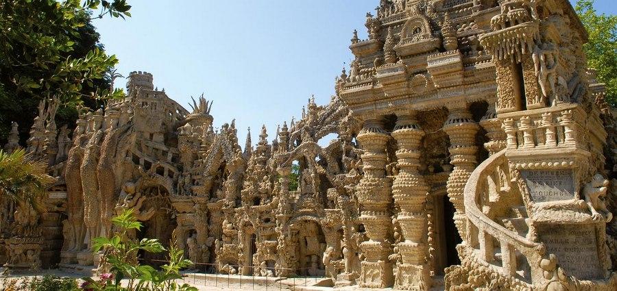 Le Palais idéal, le rêve d'une vie gravé dans la roche