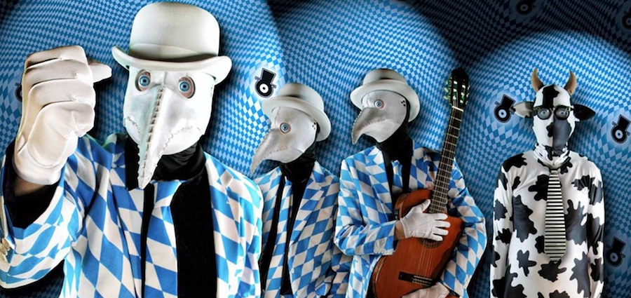 The Residents aux Abattoirs de Bourgoin en novembre