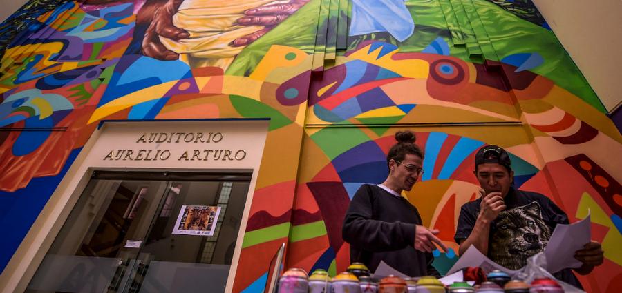 Guache : « L'art urbain est un miroir des villes qui l'accueillent »